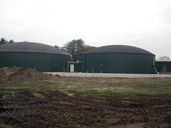 Biogazownia w Ottenhagen w Dolnej Saksonii