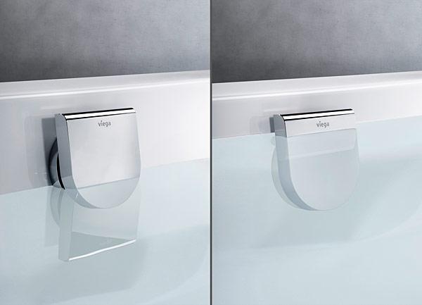Nowe komplety Multiplex pozwalają podnieść poziom wody o 5 centymetrów poprzez delikatne dotknięcie rozety