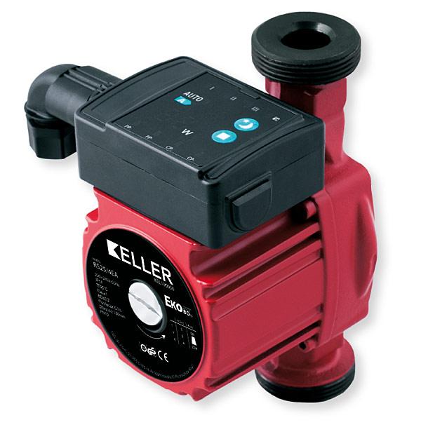 Pompy Keller Eko  to energooszczędne elektroniczne pompy obiegowe przeznaczone do instalacji centralnego ogrzewania