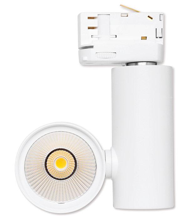 Głowice LED  w listwach oświetleniowych można obrócić o 350o  i pochylić o 180o,  aby zapewnić emisję światła w różnych kierunkach