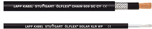 Rys. 4. Ölflex Chain 809 SC CY i Ölflex Solar XLR WP