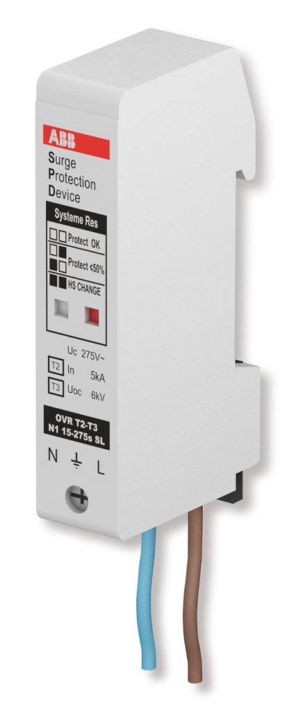 Rys. 3. Ogranicznik przepięć do ochrony lamp LED typu OVRT2-T3N1 15-275S SL