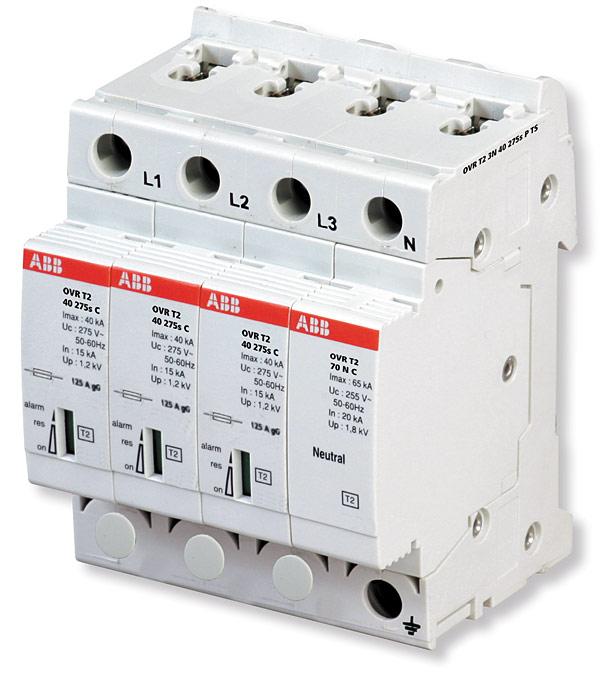 Rys. 4. Ogranicznik przepięć do ochrony lamp LED – OVR T2 N3 40 275 P
